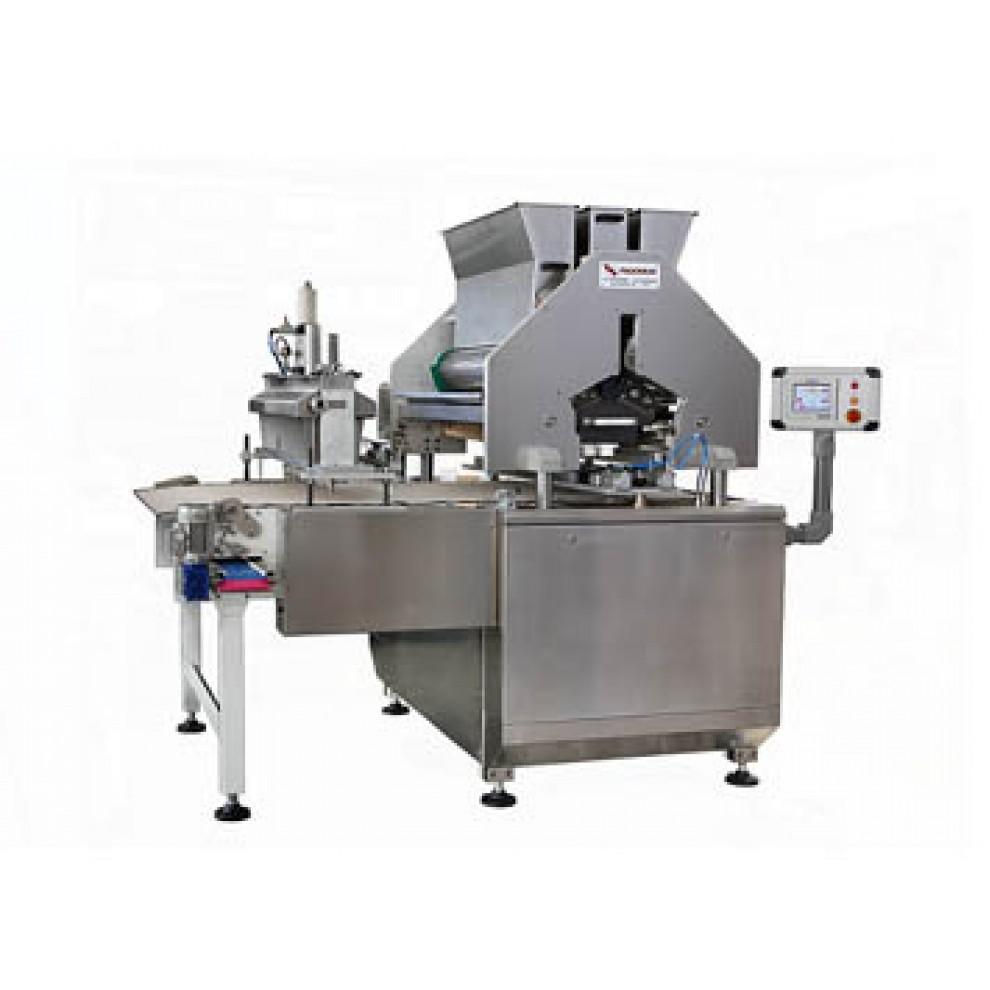 Мультиэкcтрудер для  двухцветного печенья с начинкой и струнной резки мод. «ALADIN 800 - 1000 -1200»