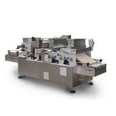 Роторно - формовочная машина с обмазкой, с посыпкой сахаром, с распределителем измельченных орехов, работающая на противнях, мод. «RDZ»