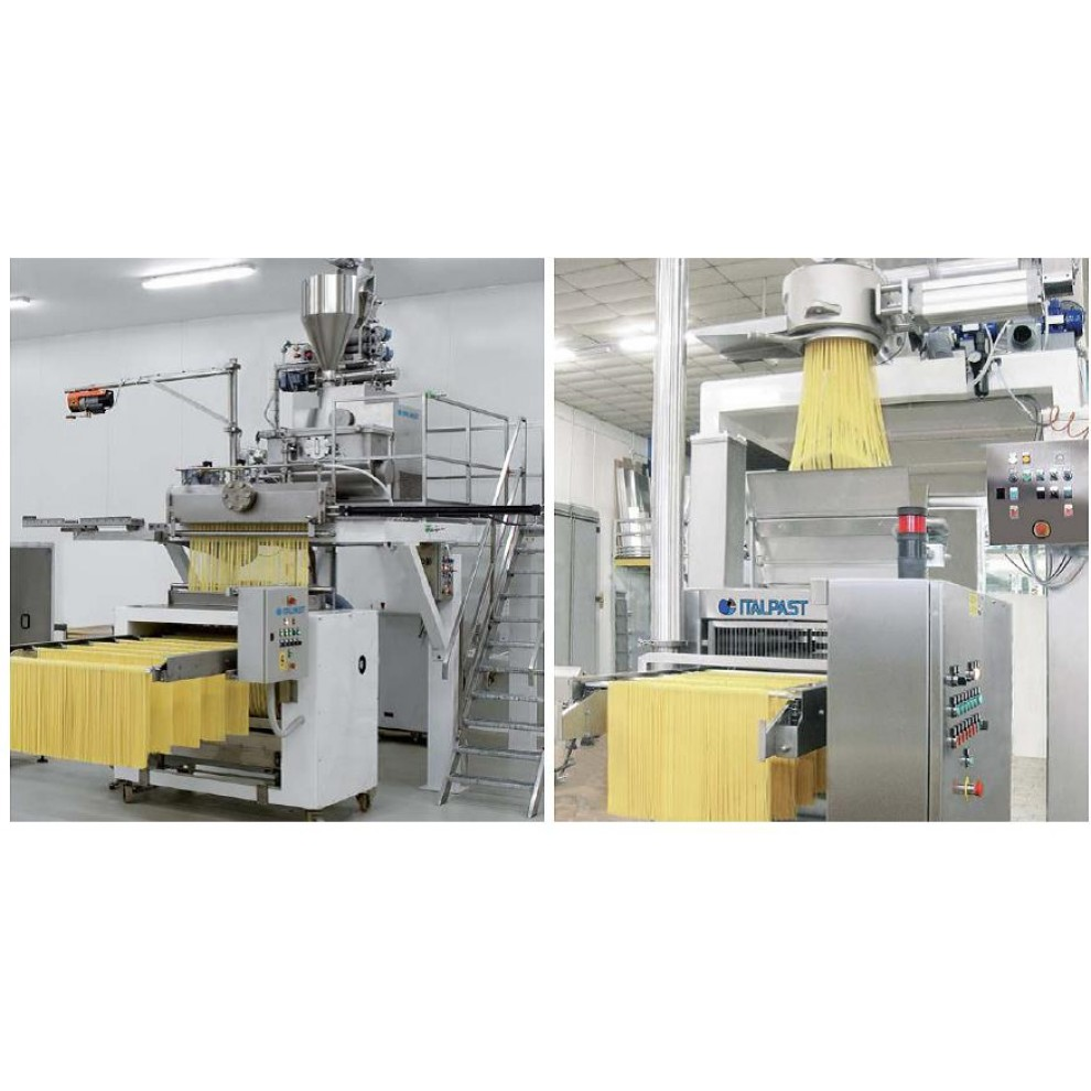 Линия для производства длинных макаронных изделий MAC 600 VRL/V (Италия) 400-500кг/час