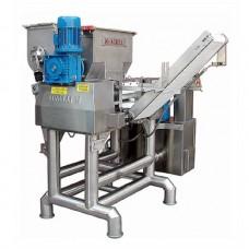 Автоматическая раскаточные машина для замеса и подачи теста А/ 250 -02